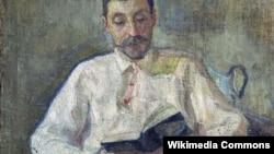 Портрет Михаила Матюшина, Елена Гуро, 1901 г.