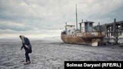 وسعت دریاچه ارومیه در درازمدت بیش از ۴۷ کیلومترمربع کمتر شده است
