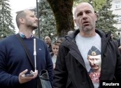 Черногорские поклонники Владимира Путина