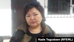 Казахстанский адвокат Жанара Балгабаева.