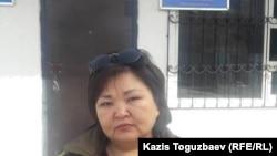Вакили дифоъ Жанара Балгабоева.