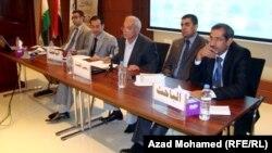 هيئة رئاسة مؤتمر الاكاديميين العراقيين في السليمانية