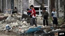 Сирия, Хомс шаары. Май, 2012-жыл