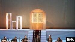 نمایی از یکی از برنامههای بيست و چهارمين جشنواره موسيقی فجر (عکس از: ایسنا)