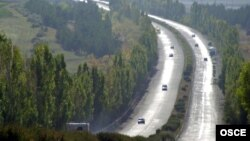 Автотрасса Ереван-Севан