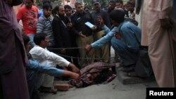 Pamje nga vrasja e Ferzana Parveen