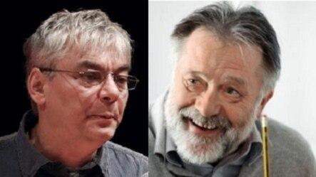 Boris Bunden i Rastko Močnik