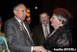 Тамир әфәнде Алимбаев һәм Ләйлә ханым Алимова