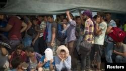 Izbeglice na grčkom ostrvu Lezbos