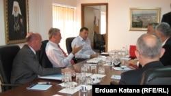 Sastanak bh. lidera političkih stranaka, jul 2012.