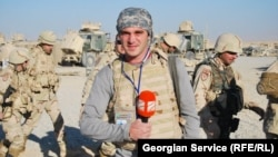 Georgian journalist Davit Kakulia reports from Afghanistan, where Georgia has troops in the NATO-led mission.