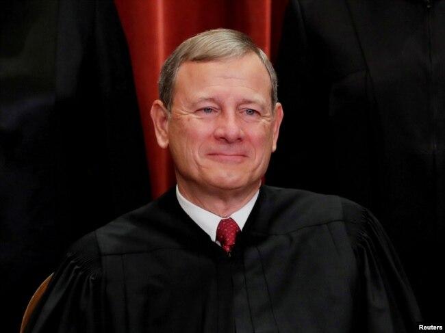 Shefi i Drejtësisë në SHBA, John G. Roberts.