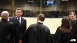 Ante Gotovina i Mladen Markač nakon oslobađajuće presude u Hagu