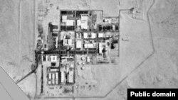 نمایی از مرکز تحقیقاتی «نِقِب» در جنوب اسرائیل که گفته میشود اسرائیل در آن اقدام به تولید سلاح هستهای کرده است.