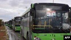 Autobusi za evakuaciju civila na čekanju