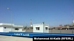 محطة تجميع النفايات في الموصل