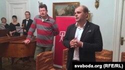 Андрэй Хадановіч і Павал Касьцюкевіч