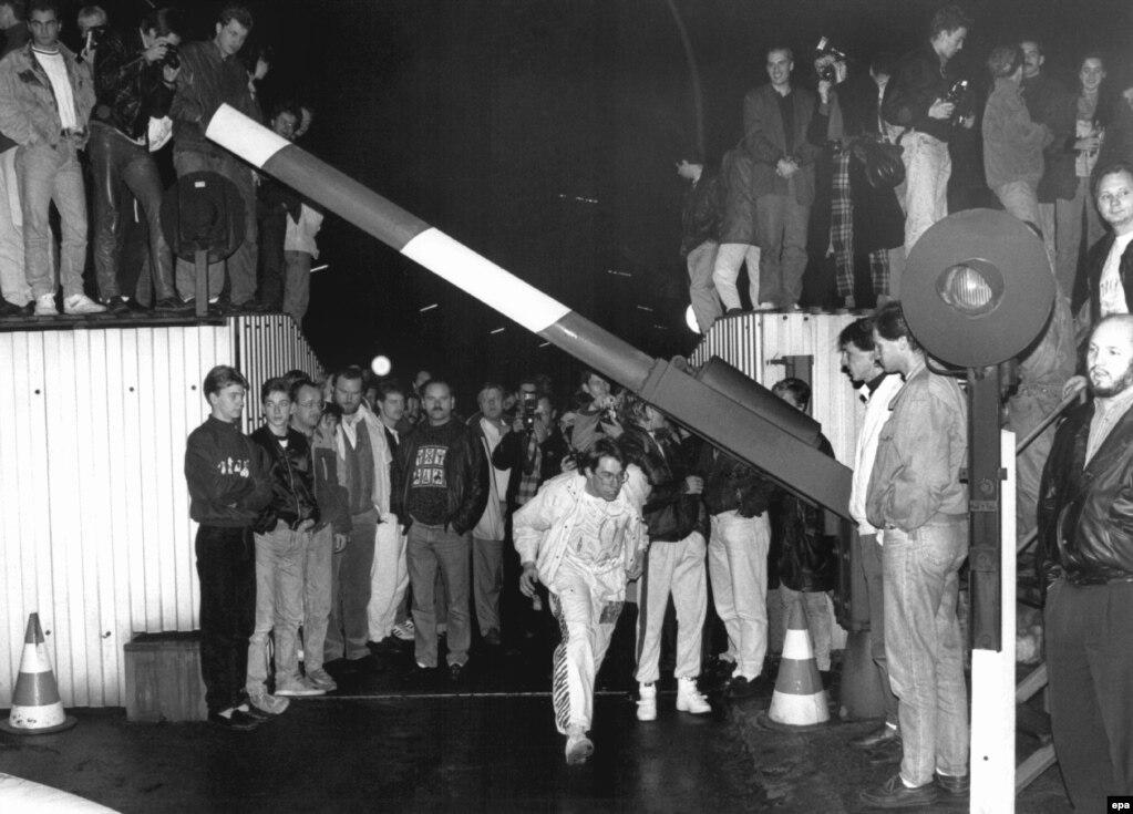 Відкриття кордону. Берлін, 9 листопада 1989 року
