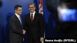 Средбата на Вестервеле со неговиот српски колега