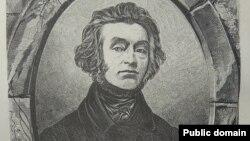 Загалоўны. Адам Міцкевіч. Фрагмэнт гравюры з звыданьня 1863г.