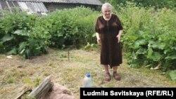 Клавдия Ивановна Бученкова из деревни Шуты Себежского района