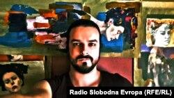 Rad Adisa Lukača, skulptora i slikara iz Sarajeva. April, 2020.