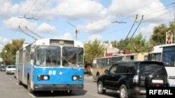 Троллейбусы - популярный вид транспорта в Петропавловске.