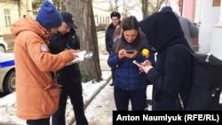Крим, затримання журналістів СТБ