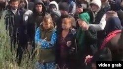 Протест в Хороге. 6 ноября 2018 года
