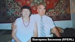 Георгий Пермяков с женой. Хабаровск. 1990-ые годы