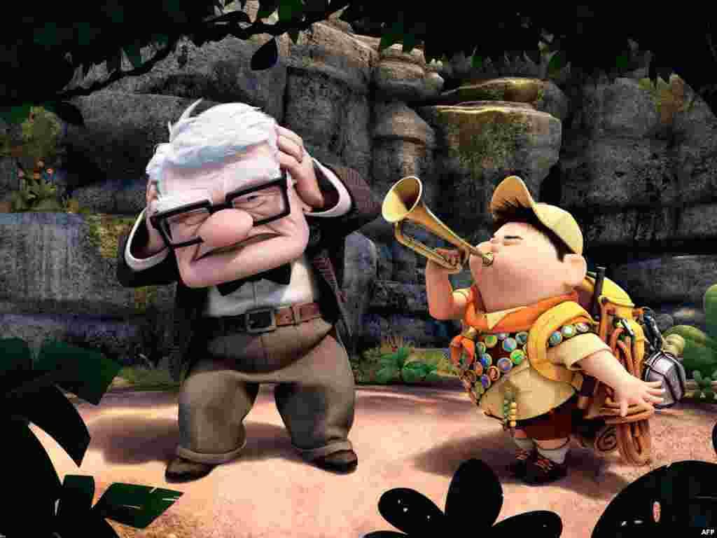 آخرین فیلم انیمیشن پیکسار با عنوان «بالا» و نخستین فیلمی که در جشنواره کن امسال نمایش داده شد