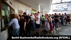 Черги в київському метро