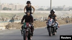 رياضة السرعة في شارع ابي نؤاس ببغداد