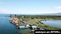 Armenia - A view of Lake Sevan, 8Aug2020