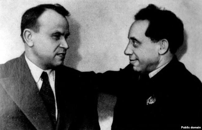 Зьмітрок Бядуля і Кандрат Крапіва, 1939 год