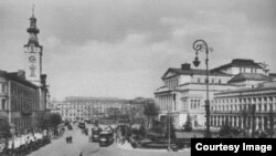 Vechea Varșovia, anii 1920 (Foto: Biblioteca Centrală Universitară, Iași)