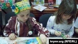 Майстер-клас із розпису української писанки в Севастополі, 1 квітня 2018 року