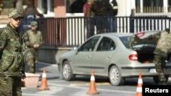Во время обыске в одной из генеральских резиденций, Стамбул, 22 февраля 2010