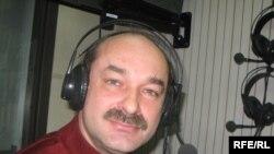 Станіслав Аржевітін у студії Радіо Свобода