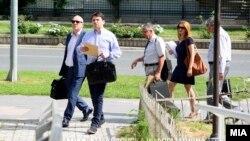 Миле Јанакиески пред Суд.