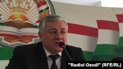 Председатель Верховного суда Таджикистана Шермахмад Шохиен.
