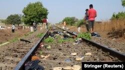 Mjesto nesreće u Indiji, 8. maj 2020.