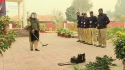 Pakistan's First Female Bomb Disposal Officer