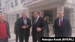 Član Predsjedništva BiH Milorad Dodik u posjeti Nevesinju