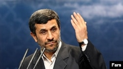Iranian President Mahmud Ahmadinejad (file photo)