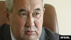 Бақытқали Мұсабеков, Қарағанды облыстық тілдерді дамыту басқармасының төрағасы. 8 қыркүйек 2009 жыл.