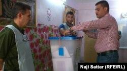Իրաքի խորհրդարանական ընտրությունների նախնական քվեարկություն Բաղդադում, 27-ը ապրիլի, 2014թ․