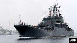 Ruska mornarica plovi u zaliv Sevastopolj