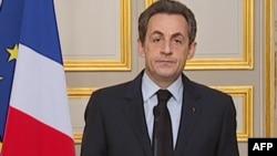 Президент Франции Николя Саркози выступил с телеобращением после гибели Мохаммеда Мера