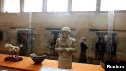 Артефакты, которые удалось вернуть в Национальный музей Ирака в Багдаде